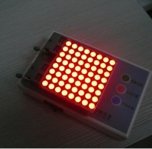 Wholesale Advertising 8 x 8 Dot Matrix Display / Dot Matrix LED Running Display from china suppliers