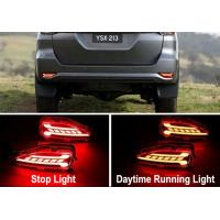 Buy cheap TOYOTA All New Fortuner 2016 2017 Modified LED Rear Bumper Lights from wholesalers