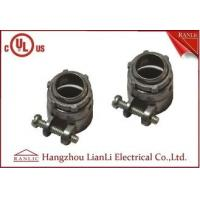 Wholesale Flexible Conduit Straight Squeeze Connector Electrical Zinc Die Casting UL Approvals from china suppliers