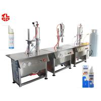 Wholesale Pneumatic Aeroso Spray Filling Machine For Asthma Spray / Dose Inhaler Spray from china suppliers