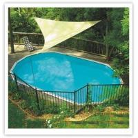 Triangle Breathable Sun Shade Sail For Courtyard Swimming Pools Of Item 101170012