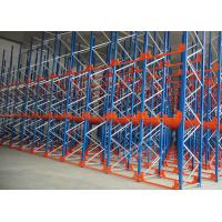 Wholesale Q235 Q345 Steel Pallet Racks Radio Shuttle Racking Optimizing Space Networking Control from china suppliers