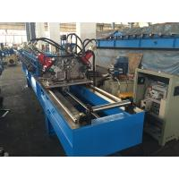 Wholesale Chain Drive Double Row Roll Forming Equipment With Punching / Track Cutting System from china suppliers