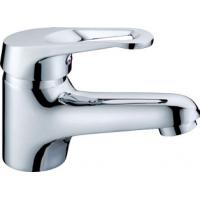 Wholesale One Handle Single Hole Bathroom Basin Mixer Faucet , Deck Mounted from china suppliers