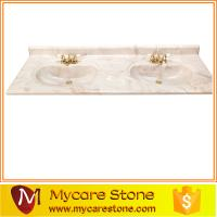 Wholesale wholesale cheap price double sink cultured marble bathroom vanity tops high qulity for sale from china suppliers