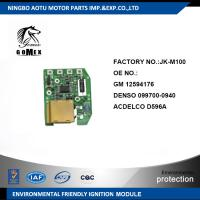 Wholesale High Quality Auto Ignition Module for GM 12594176 DENSO 099700-0940 ACDELCO D596A from china suppliers