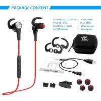 Pink sport earbuds - magnetic sports wireless earbuds q12
