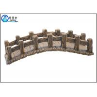 Wholesale Fish Tank Aquarium Resin Ornaments , Larger Artificial Resin Arch Bridge from china suppliers