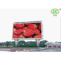 Wholesale High Definition giant Outdoor Led Billboards for exhibition / sporting events 6500K - 9500K from china suppliers