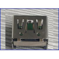Wholesale USB2.0 A male SMT 19P straight pin Connector blue Brass material from china suppliers