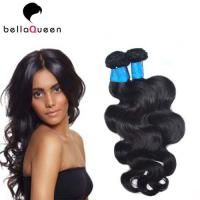 Wholesale Natural Black 6a Virgin Burmese Remy Hair Extension , Body Wave Human Hair Weaving from china suppliers