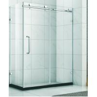 Wholesale bathroom ,shower room ,shower enclosure, stainless steel shower glass HS-04 from china suppliers