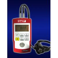 Wholesale 4 digits LCD Handheld Ultrasonic Thickness Gauge SA40+ with normal and multiple echo(MEC)  mode in red or blue color from china suppliers