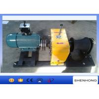 Wholesale Heavy Duty Electric Cable Pulling Winch 8 Ton 5.5KW Rated Load Two Brake Installment from china suppliers