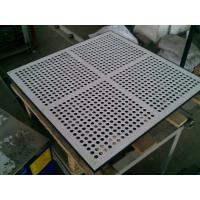 Wholesale Exact dimension for the hole of tile and panel, Hard Steel Perforated Raised Floor from china suppliers