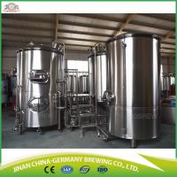 Buy cheap 500L commercial beer brewing systems for sale with CKT tanks from wholesalers