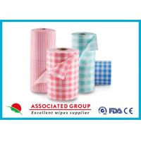 Wholesale Spunlace Viscose And Polyester (PET) Non Woven Fabric Roll Colorfu Printed from china suppliers