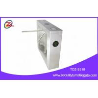 Wholesale 304 Stainless Steel Gate Turnstile , Fingerprint Tripod Gate With Counter Function from china suppliers