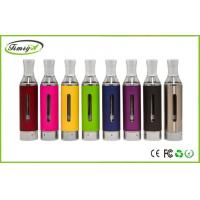 China 1100mah Battery red e cig Clearomizer 2.4ml ODM , Evod BCC Cartomizer tank on sale