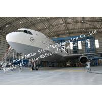 Wholesale Hot Galvanized Steel Shed Aircraft Hangar Buildings For Airplanes / Air Terminals from china suppliers