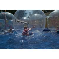 Wholesale PVC Water Bounce Inflatable Human Water Walking Ball , Walking On Water Bubble Ball from china suppliers