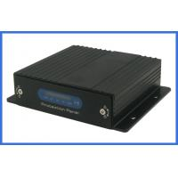 Wholesale H.264 4channel vehicle DVR 32GB SD card storage with VGA connector/alarm from china suppliers