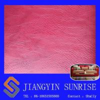 Wholesale Abrasion - Resistant Chair Faux Leather , Imitation Inodorous Leather Fabric For Pvc from china suppliers