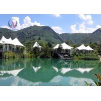Wholesale Fantastic Light Luxury Tent Hotel Prefabricated Building Rock Wool Insulation from china suppliers