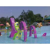 Wholesale Purple Ribbon Arch Water Pool Toys For Water Park Customized from china suppliers