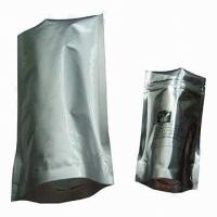 China Zip lock Aluminum Tea Foil Bags CPP VMPET Food safe Packaging Bag on sale