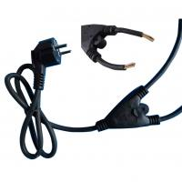 Buy cheap VDE 1 to 2 power extension cable from wholesalers