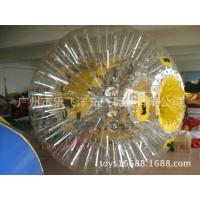 Wholesale Double Exciting Inflatable Walking Ball , Bang Bead Inflatable Zorb Ball from china suppliers