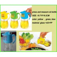 Buy cheap press measure Oil bottle, oil Vinegar Dispenser, Measure Oil bottle, kitchen oil bottle from wholesalers