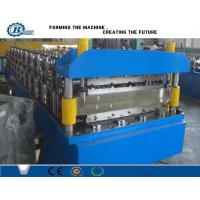 Wholesale Metal  Double Layer Roll Forming Machine For Corrugated Steel Roof Sheets from china suppliers