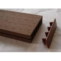 Buy cheap Hollow Brown Composite Decking from wholesalers