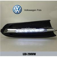 Wholesale Volkswagen VW Polo DRL LED Daytime driving Lights Car front daylight from china suppliers