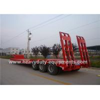 Wholesale 3 Axle Low Bed Semi Trailer from china suppliers