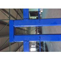 """Wholesale 6'x9.6' canada standard construction fencing panels frame 1.2""""/30mm*1.4mm thick brace 3/4""""/ 20mm*1.00mm powder coated from china suppliers"""