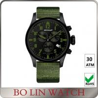 Wholesale 6 Hands Nylon Strap Chronograph Stainless Steel Watches For Boys OEM from china suppliers