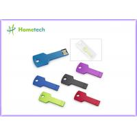 Wholesale 4GB 8GB Key Usb Memory Stick Laser Logo Metal Optional Capacity from china suppliers