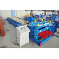 Wholesale High Speed Steel Glazed Roll Forming Equipment With Hydraulic Press And Cut System from china suppliers