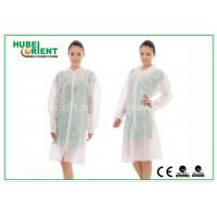 Wholesale Dental Medical Tyvek Disposable Lab Coats / Plus Size Lab Coats Breathable For Body from china suppliers