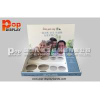 Wholesale CMYK Full Color Corrugated Counter Display Stand With 8 Holes For Drink Bottles from china suppliers