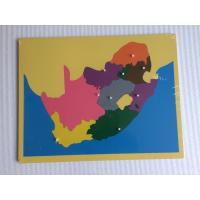 Wholesale Montessori Materials - Puzzle of South Africa 57*45cm from china suppliers