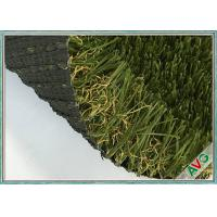 Quality UV Resistant Green Outdoor Artificial Grass For Garden / Landscape Decorative for sale