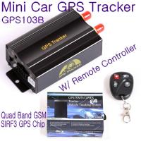 Wholesale GPS103B Remote Control Car Vehicle Truck GPS Tracker Real Time GPS Tracking Locator System W/ Cut-off oil & power by SMS from china suppliers