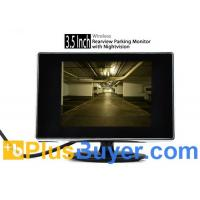 "Wholesale 3.5"" Wireless Rearview Monitor + Nightvision Camera (Weatherproof, Easy DIY) from china suppliers"