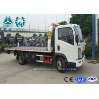 Wholesale Right Hand Drive Howo 4 x 2 Wrecker Tow Trucks For Car Transporter from china suppliers