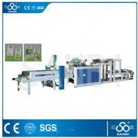 Wholesale Single Line Nylon Bag Making Machine / Equipment PLC Control For Vest Carrier Bags from china suppliers