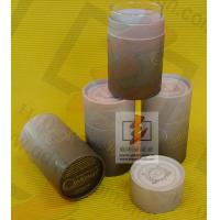 Wholesale Kraft Paper Wine Bottle Gift Tube With Lids , Cylinder Wine Gift Boxes from china suppliers